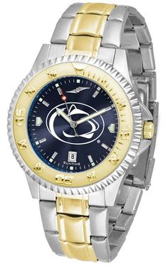 Penn State Nittany Lions Men Competitor Two-Tone Watch With Anochrome Dial