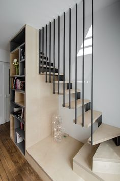 55 Ideas stairs design modern decoration for 2019 Interior Stairs, Interior Architecture, Interior Design, Escalier Design, Concrete Stairs, Stair Decor, Modern Stairs, House Stairs, Stair Railing