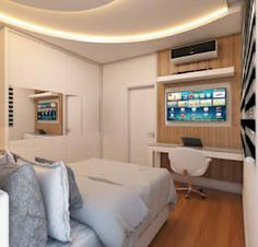 moderne Slaapkamer door Caio Pelisson - Arquitetura e Design