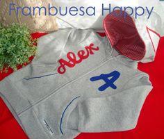SUDADERA PERSONALIZADA: Feliz cumpleaños Alex! | FRAMBUESA HAPPY