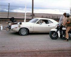 Filming the original Vanishing Point  '70 Dodge Challenger