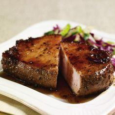 Rosemary Fennel Crusted Pork Chops
