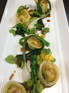 Real life food at Pangaea Restaurant!  This was the pasta special for May 9, 2012
