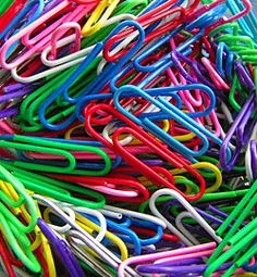 Love my large colored paperclips and use a bunch every week!!