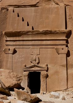 Ancient Mysteries, Ancient Ruins, Ancient Art, Ancient History, Wonderful Places, Beautiful Places, Egyptian Artwork, Sister Cities, Desert Design