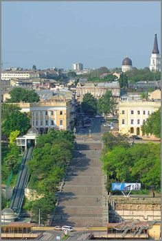Odessa, UKRAINE - Those famouse steps.. Let me just tell you, those steps are NO joke.. Lol