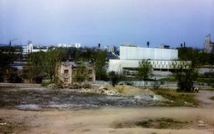 Land after Ipatiev house demolished - photo taken to show new cinema at rear - 1978.