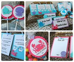 Under the Sea Birthday Party Package