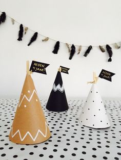 BIRTHDAY TREATS // teepees // DIY