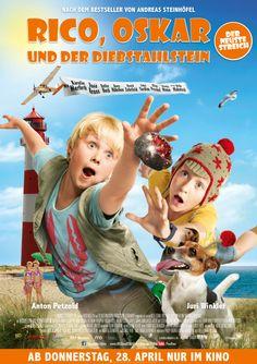 Film Vorstellung: RICO, OSKAR UND DER DIEBSTAHLSTEIN (Kinostart: 28. April) plus Gewinnspiel
