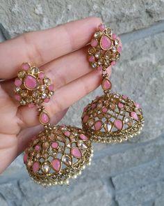 Silver Earrings With Pearl Product Indian Jewelry Earrings, Fancy Jewellery, Jewelry Design Earrings, Indian Wedding Jewelry, Ear Jewelry, Stylish Jewelry, Bridal Jewelry, Silver Jewelry, Silver Ring