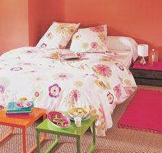 Chambre fleurie - Sélection d'objets déco motifs fleurs -