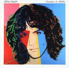 """Billy Squier - """"Emotions in Motion"""". Designed by Andy Warhol."""