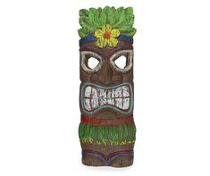 Key West Decor, Tiki Faces, Tiki Man, Tiki Bar Decor, Vintage Metal Signs, Pink Candles, Hippie Art, Wall Canvas, Room Kitchen