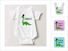 Dinosaur Baby Collection #babyshower #genderrevealideas #genderreveal