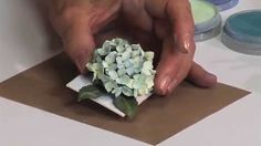 How to Use Sizzix Hydrangea Flower Die