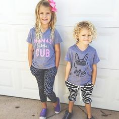 #OOTD #mylittleadi | Grey Leopard and Striped Easy Pants | Little Adi + Co | $28 | Click link to shop: http://www.littleadi.com/search?type=product&q=easy+pant