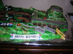 G. I. Joe Army Birthday Cake