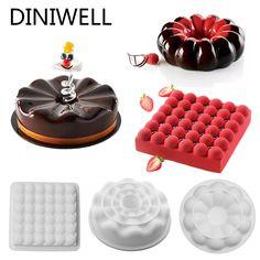 Septembre Lot de 2 moules en silicone pour d/écoration de g/âteaux au chocolat fondant savon