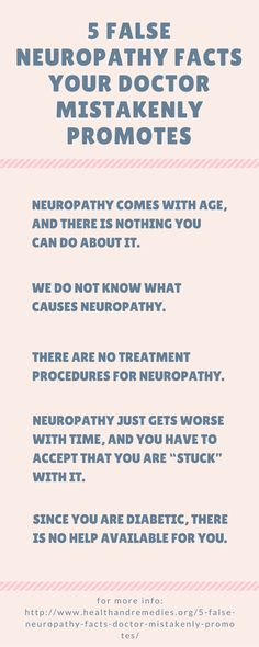 5 False Neuropathy Facts Your Doctor Mistakenly Promotes
