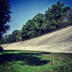 'The banking', the old part of the track at Autodromo Di Monza, Italy. The 'birthplace of speed' #f1 #motorsport #monza