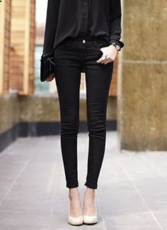 All black and neutral