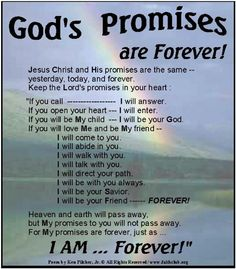 God's Promises to the Obedient. God's Promises Are Real and Forever God Jesus, Jesus Christ, King Jesus, Gods Promises, Promises In The Bible, Faith In God, Faith Quotes, Bible Quotes, Qoutes