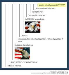 """Go back to Canada, Iowa"" hahaha i laughed a little harder than i should have.."