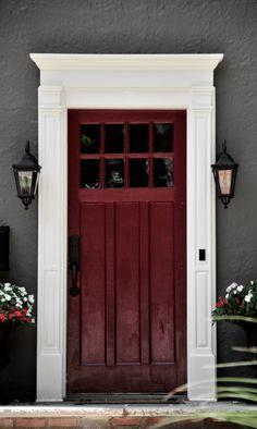 Doors On Pinterest Front Doors Front Door Trims And Craftsman Door