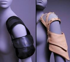 Shoulder Bags - literally! Innovative bag design #fashion