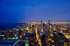 This photo was taken on June 2012 during my trip to Chicago. That was my first time visiting Chicago. I was impressed by those gorgeous architectures and beautiful cityscapes. I was so lucky to have a chance to view and capture this amazing city view from a higher perspective.  And now, I would like to share w/ everyone.  Wish you will like it.