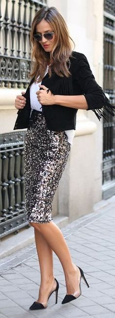 Awesome party outfit inspiration | Stylish outfits for fashionable women.