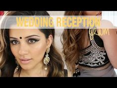 GRWM | Wedding Reception Party Makeup + Hair Tutorial | Kaushal Beauty - YouTube