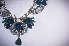 Esmeralda necklace by Rumer of London