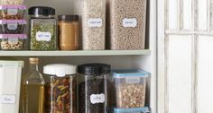 Pantry Makeover: How to Organize in 30 Minutes - 30 minutes and a little advance planning is all you'll need to turn your cluttered food shelves into an organized and well-stocked pantry.