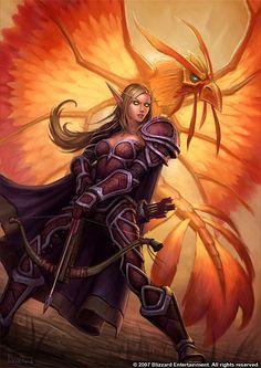 Blood Elf Huntress