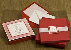 Invitation Boxes - All Colors and Sizes