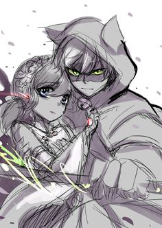 Kinda has this idea from listening to Tsubasa Chronicle's soundtrack - w -;; and pictured Chat Noir(Adrien) protecting his Princess~Marinette's dress was inspired from dresses worn by Chinese princessesKinda thinking of continuing this piece or not xDD