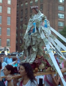 Summer Festivals in the North End Boston.