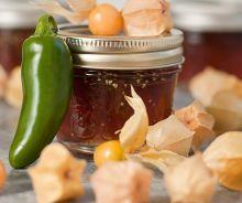 La meilleure recette de confiture de cerises de terre (Et la plus facile!) Brunch, Pickles, Cucumber, Desserts, Food, Hamburgers, Sauce, Pain, Conservation