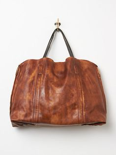 Dip Dye Leather Tote | freepeople