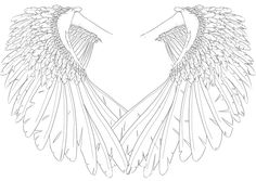 Angel Wings by HumDrumBuzz.deviantart.com on @DeviantArt