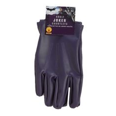 superherocostumesusa.com: : Batman Dark Knight The Joker Gloves Adult