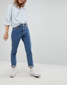 Levi's 501 High Rise Skinny Jean