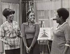 """Destiny on Instagram: """"These Queens. 🦋👑 Did you know...Thelma was the first black female teenager on tv played by BernNadette Stanis. @thelmaofgoodtimes…"""" School Memories, Childhood Memories, 1970s Childhood, Ja Net Dubois, Bernnadette Stanis, Norman Lear, Black Tv Shows, Mike Evans, Black Magazine"""