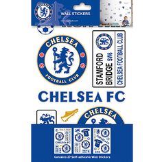 chelsea wall stickers Chelsea London Official Merchandise Available at www.itsmatchday.com