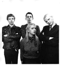 "The Nips (The Nipple Erectors) - Roger Williams - Drums - Shane Macgowan - Vocals - Ms Shanne Bradley - Bass -  Gavin ""Fritz"" Douglas Guitar"