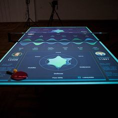Interactive ping pong table gives real-time feedbackWe have already seen tools bring interactive training to cycling, yoga, basketball and more. Now, it's ping pong's turn too. The Table Tennis.