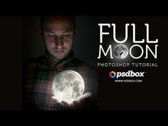 Creative Manipulation Tutorial - Full Moon - 300+ free Photoshop Tutorials