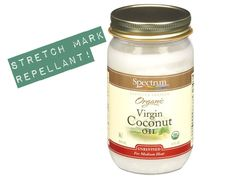 I love coconut oil, I swear by it for so many things, never thought of using it for stretch mark prevention, but I'm definitely gonna start adding it to my moisturizing routine. Pregnancy Workout, Pregnancy Tips, Pregnancy Photos, Home Remedies, Natural Remedies, Prevent Stretch Marks, Coconut Oil Beauty, Congratulations Baby, Organic